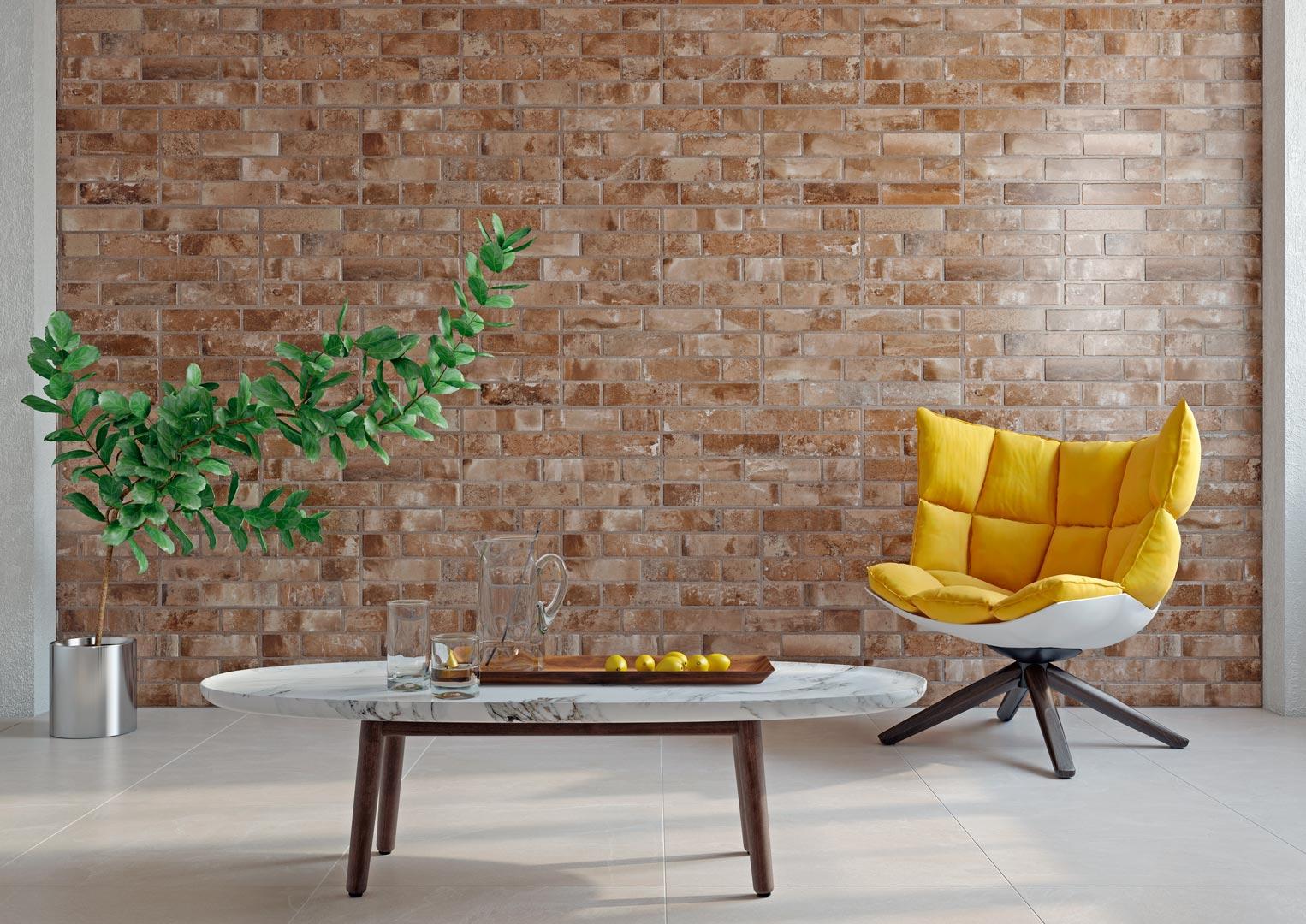 gresie, brickstone