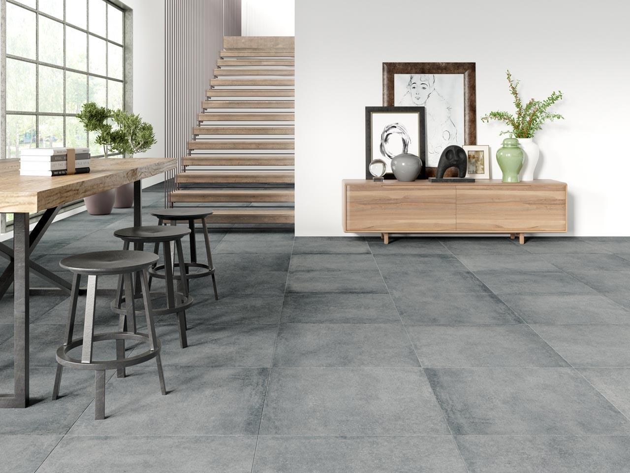 plinta, concrete